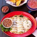 Enchiladas Espinacas