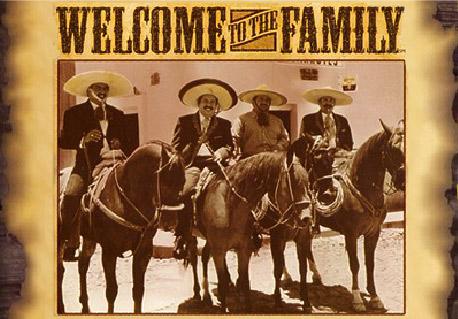 Ramos brothers on horseback